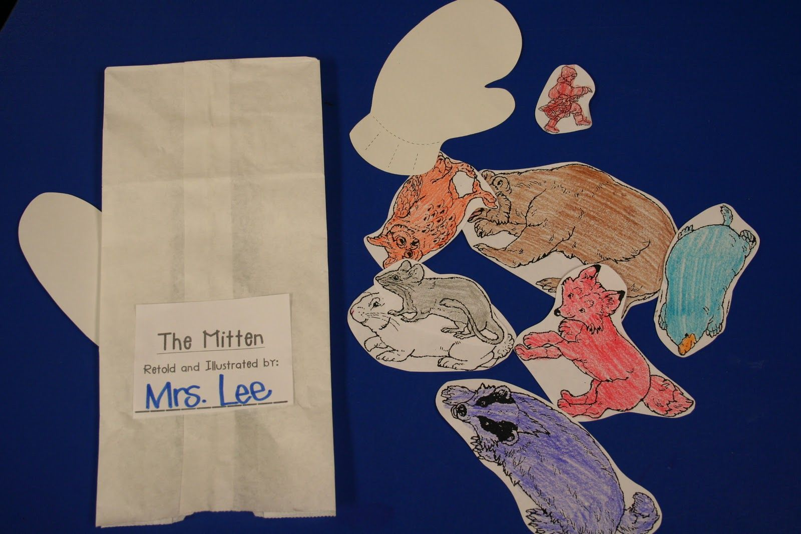 Animals in the story and not in the story (The Mitten) free printable ...