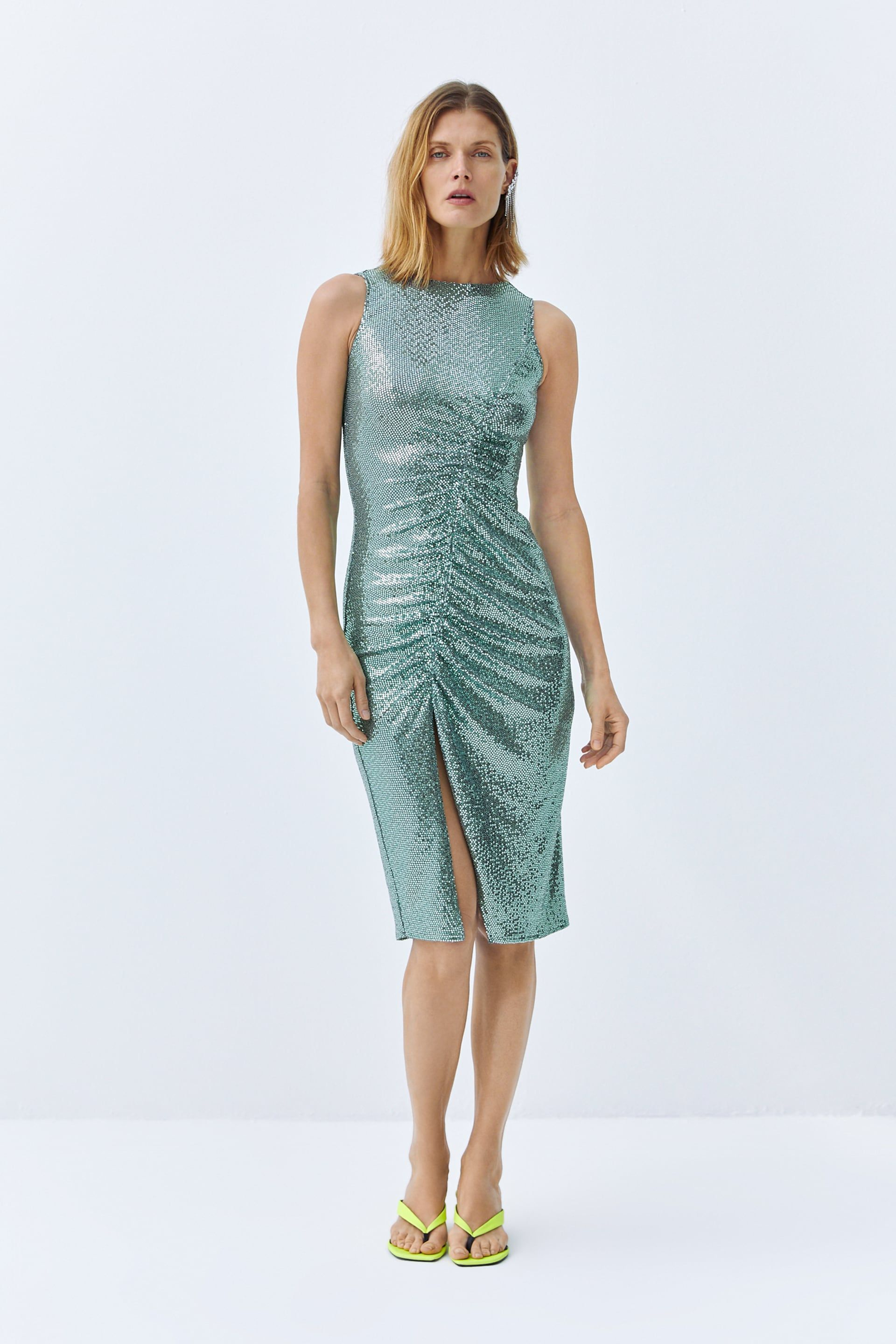 b2ac0e86 Sequin dress in 2019 | style | evening | Sequin dress, Dresses, Sequins