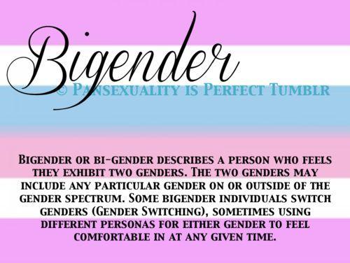 Bigender pansexual