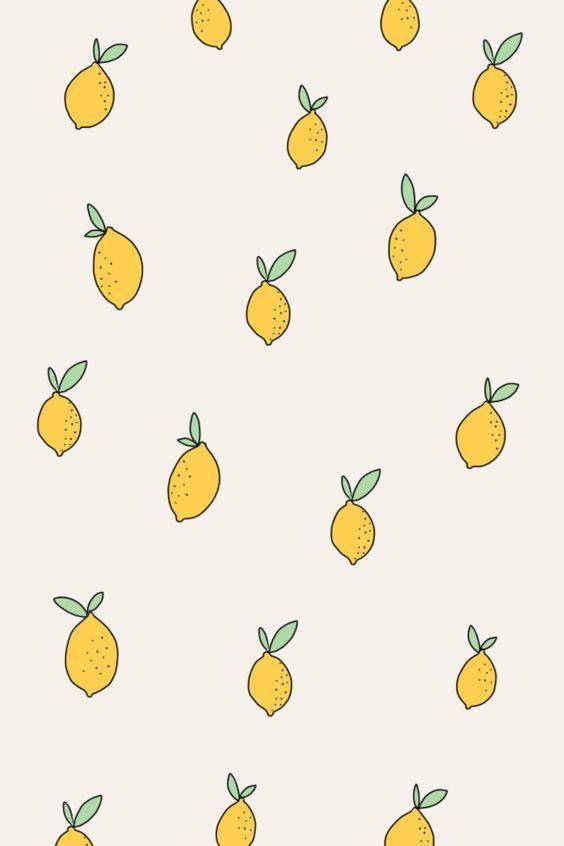 Lemon Wallpaper Pattern Pattern Wallpaper Print Patterns Pattern