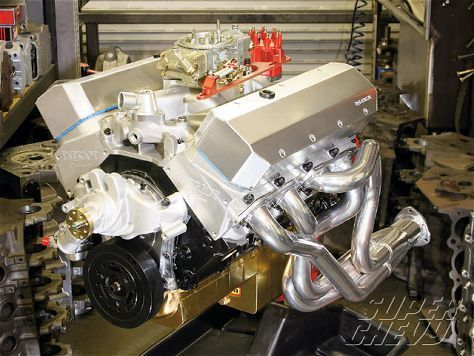 496 Chevy Big Block Build - Stroker Kit - Super Chevy Magazine | HP