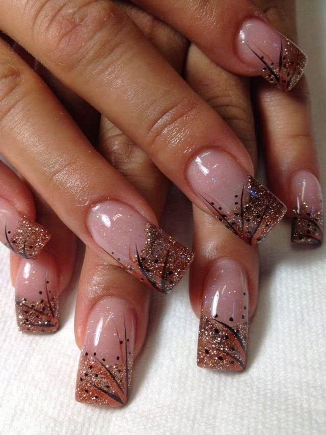elegant and stylish nails art 2014