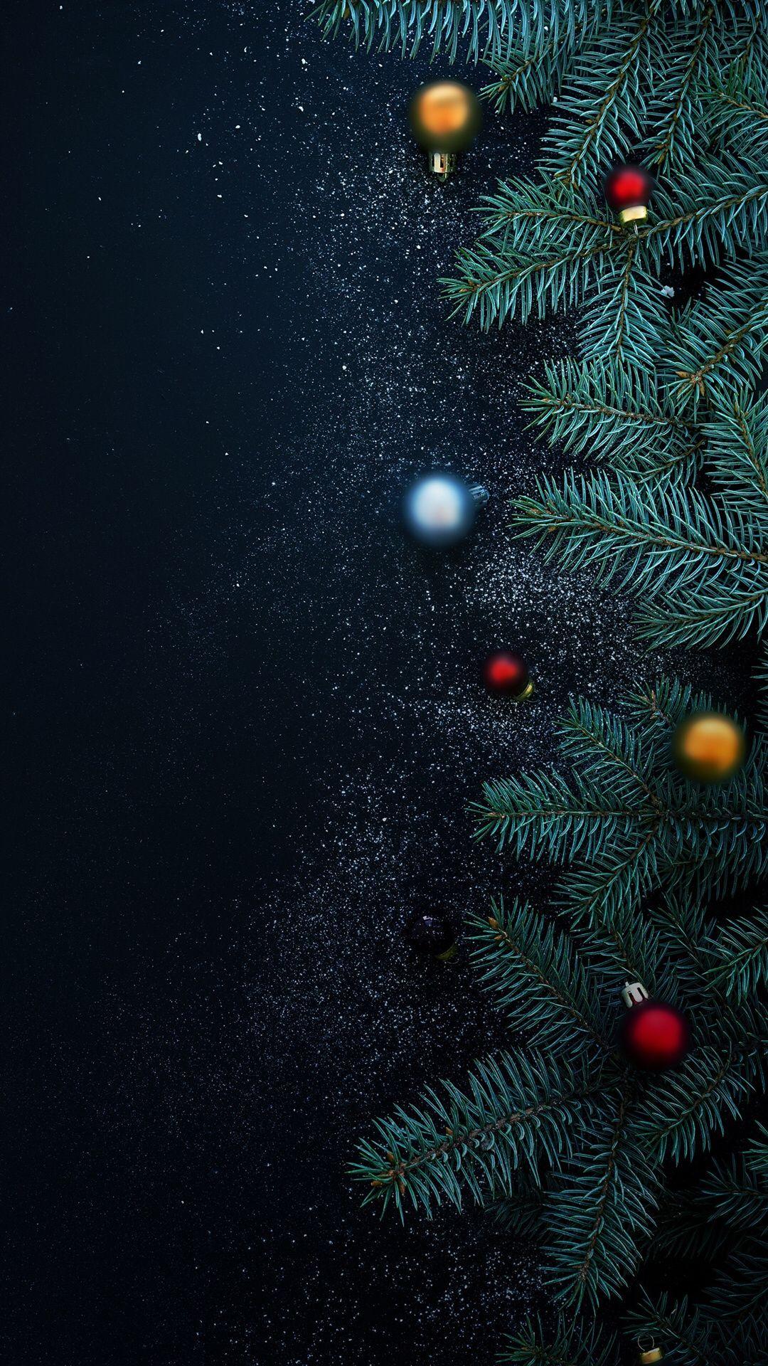 Christmas Tree Wallpaper iphone christmas, Christmas