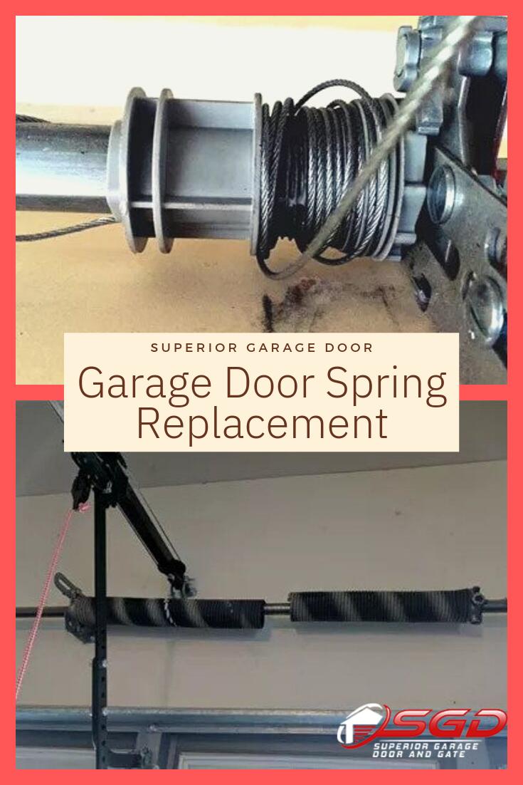 Garage Door Spring Replacement Garage Door Spring Replacement Garage Door Springs Garage Doors