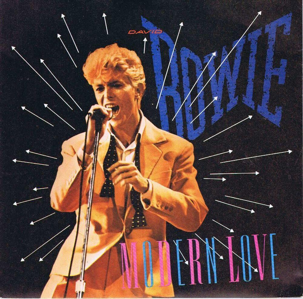 David Bowie Modern Love Ea 158 7 Inch Record David Bowie Modern Love David Bowie Bowie
