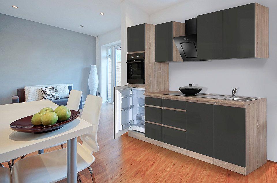 Respekta Küchenzeile mit E-Geräten »Boston«, Breite 270 cm Jetzt - küchenzeile 240 cm mit geräten