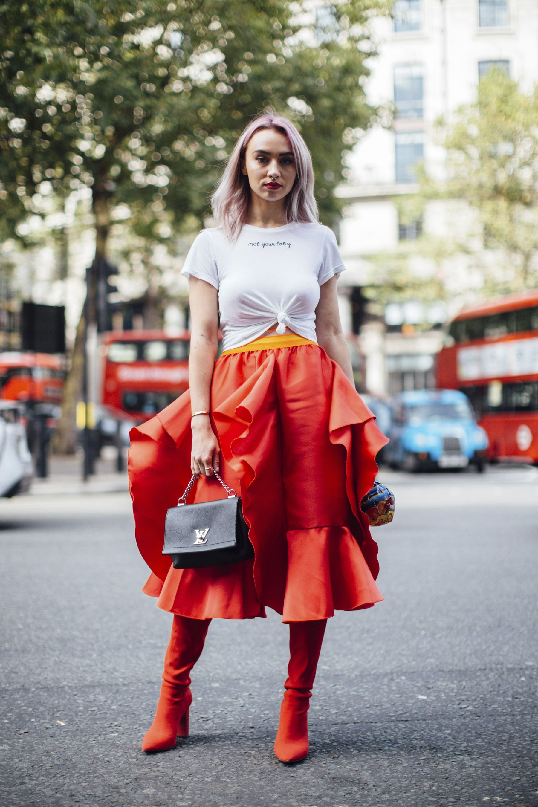 London Fashion Week Street Style Spring 2018 Wardrobe