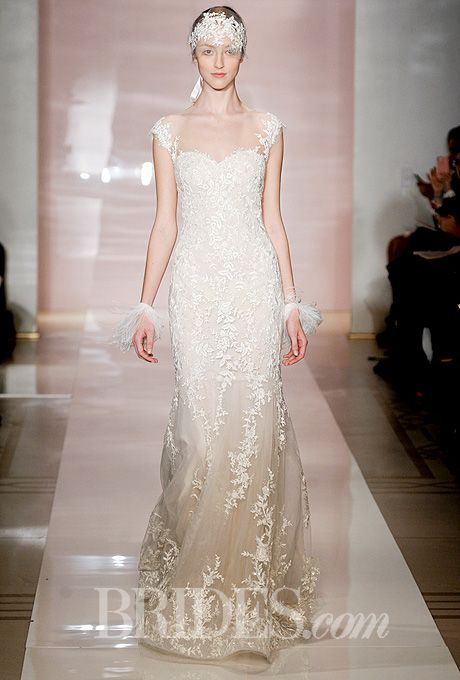 1000  images about Reem Acra on Pinterest - Tulle wedding dresses ...