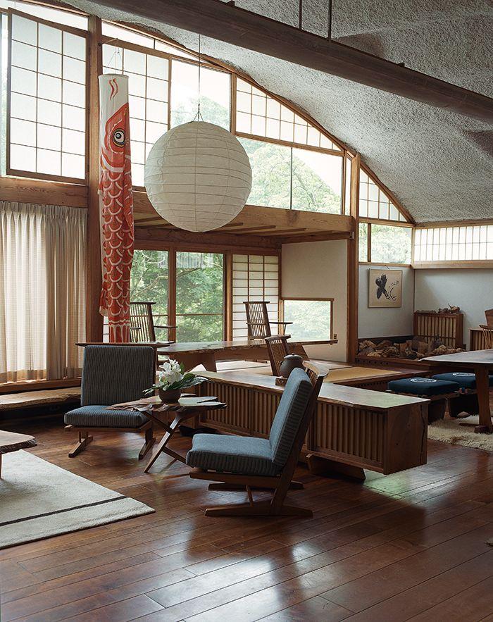die besten 25 george nakashima ideen auf pinterest japanische k che haus im japanischen stil. Black Bedroom Furniture Sets. Home Design Ideas