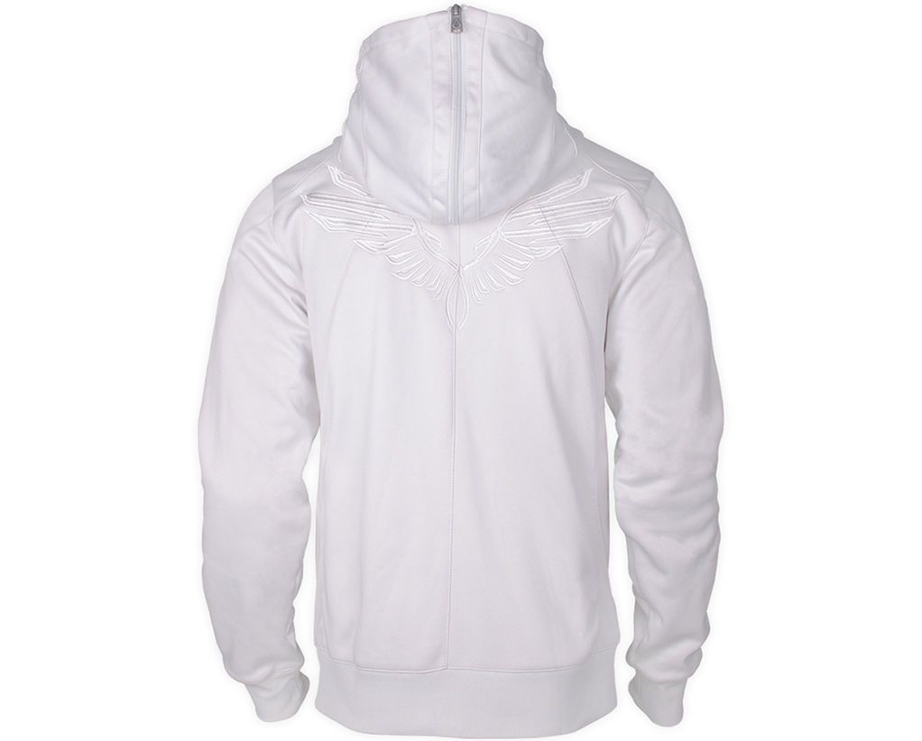 Assassin's Creed | Desmond Miles Hoodie Jacket - White With Eagle | Ubi Workshop