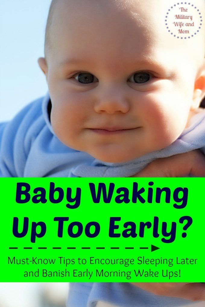 Baby Waking Up Too Early Must-Know Tips For Parents -5614