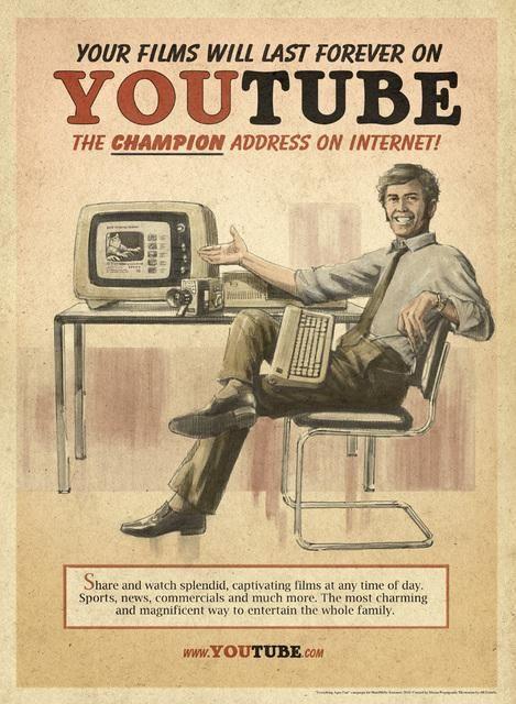 ヴィンテージ風SNS広告 Vintage Ads Social Media