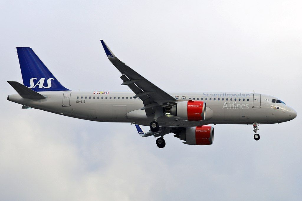 Ei Sib Airbus A320neo Scandinavian Airlines Ireland Ellisiv Viking At London Heathrow Airport Fleet Sas Airlines Airbus