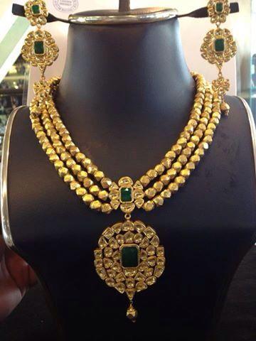 Women Traditional Tulsi Set Bridal Heavy Tulsi Jewelry Set Pakistani Ethnic Tulsi Jewelry Set Indian Jewelry Set Bridal Tikka /& Earrings