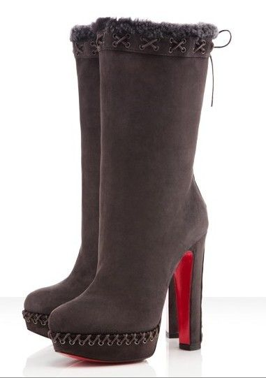 79e806679329 Christian Louboutin STEP N ROLL 140 SUEDE BOOTS  BOOTS024  -  233.10    Discounted Christian Louboutin