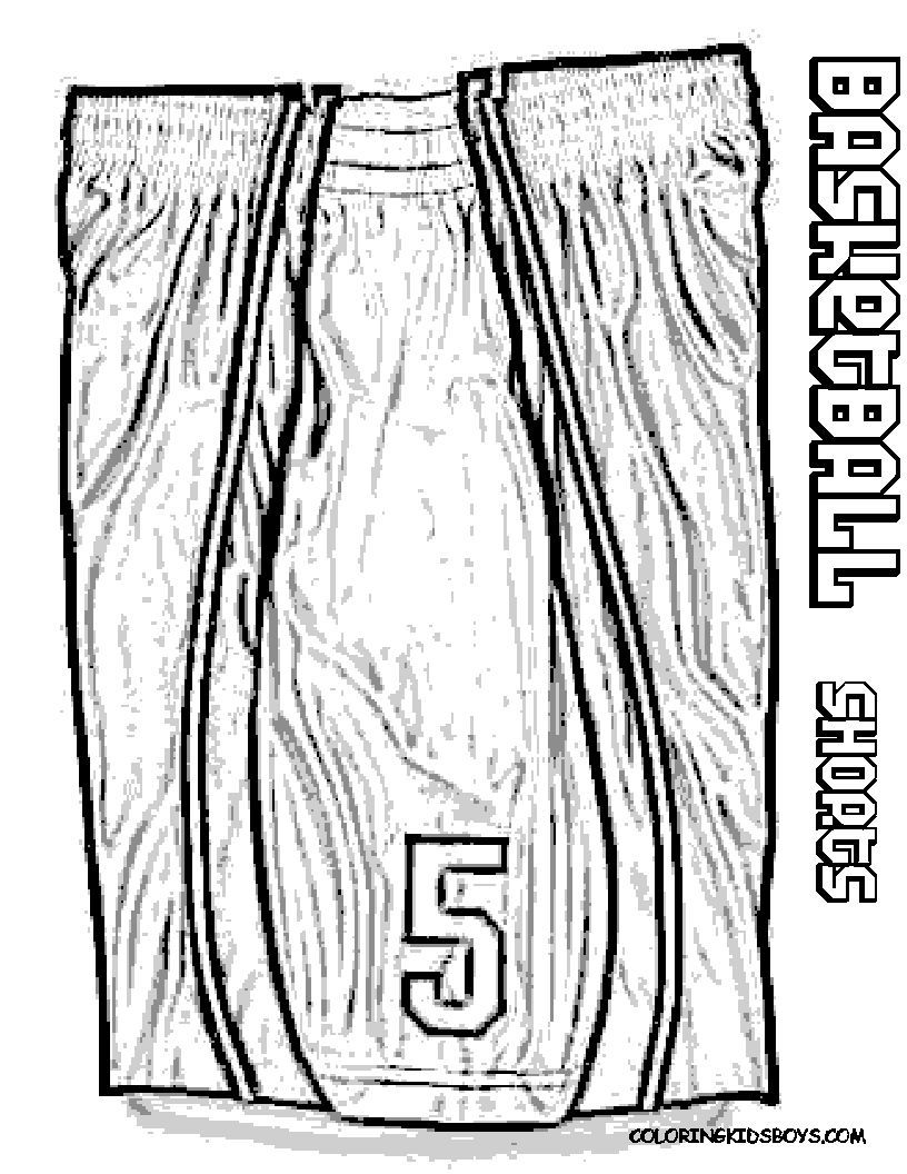 Kids, Print Out This Easy Basketball Coloring Pictures