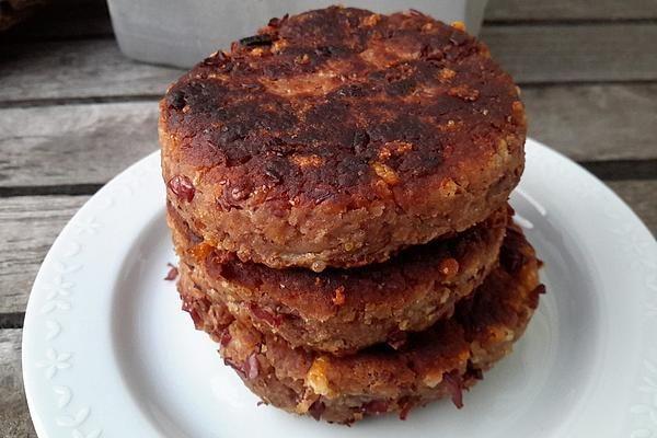 Vegetarische Bratlinge mit Kidneybohnen von MACaniac | Chefkoch