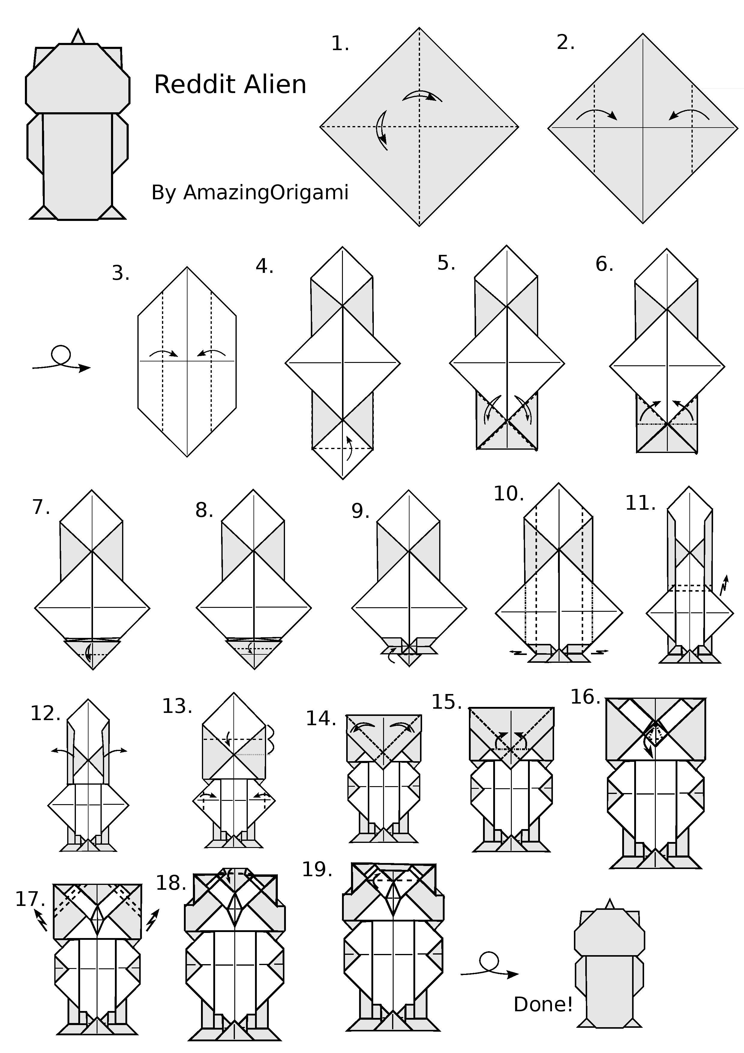 25 Peacock Origami Instructions Coloring Pages Pinterest Dragon Diagrams