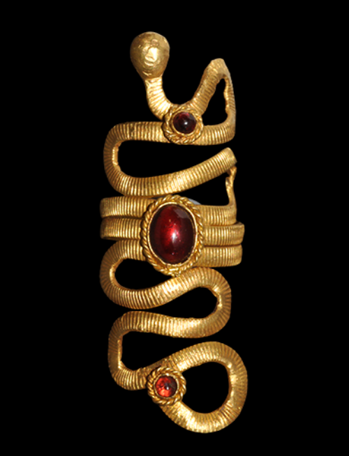 Ancient & Medieval History — Egyptian Gold and Garnet ...