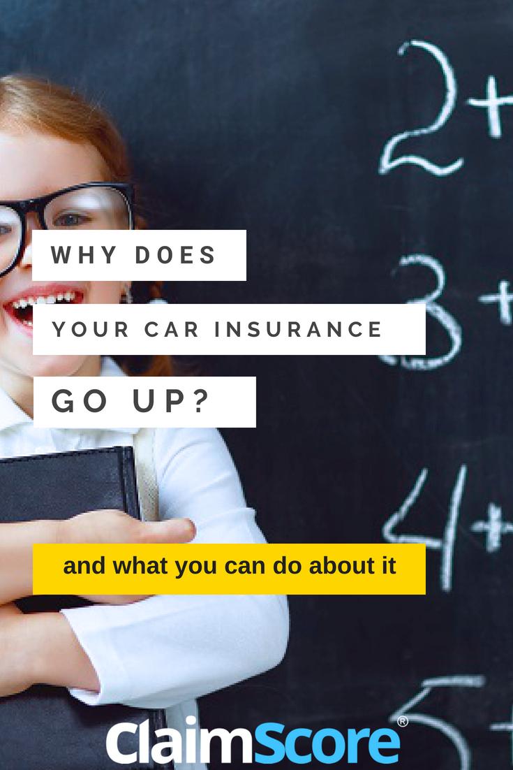 How much will my car insurance go up Car insurance, Car