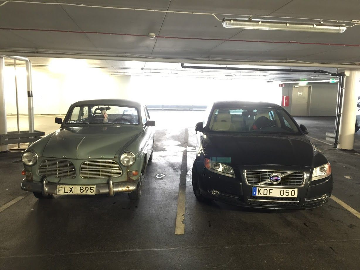 Volvo: Old & New