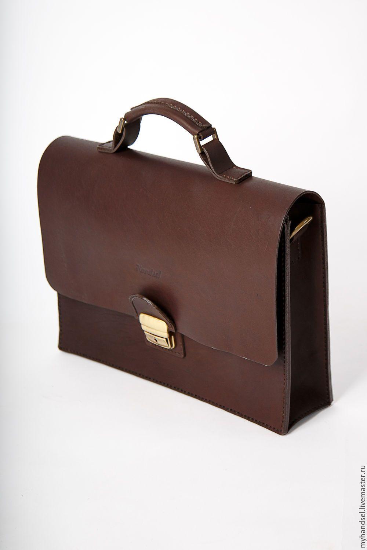 6513ba01abb8 Кожаный портфель Stand/ кожа быка/ исключительно ручная работа/ Приглашаем  Вас в гости vk.com/myhandsel