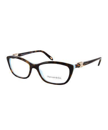 14bf649320f Love this Havana   Blue Cat-Eye Eyeglasses on  zulily!  zulilyfinds ...