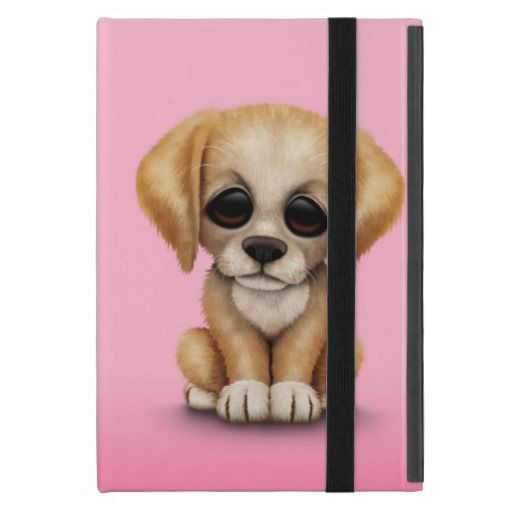 Coupon Code Cute Golden Retriever Puppy Dog On Pink Ipad Mini Cases