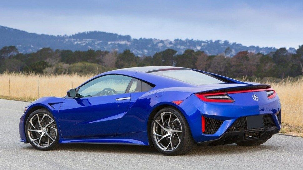 2017 Acura NSX Safety Features Interior Design And Special