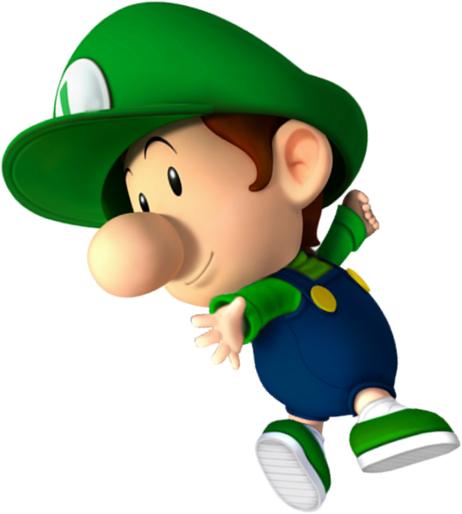 Baby Luiqi Super Mario Art Mario Kart Characters Super Mario Bros