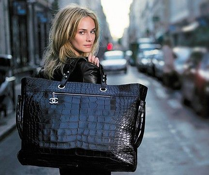 ef3b4ecf8f0c Chanel Paris-Biarritz large crocodile tote. | Gasp.Swoon.Faint.Style ...