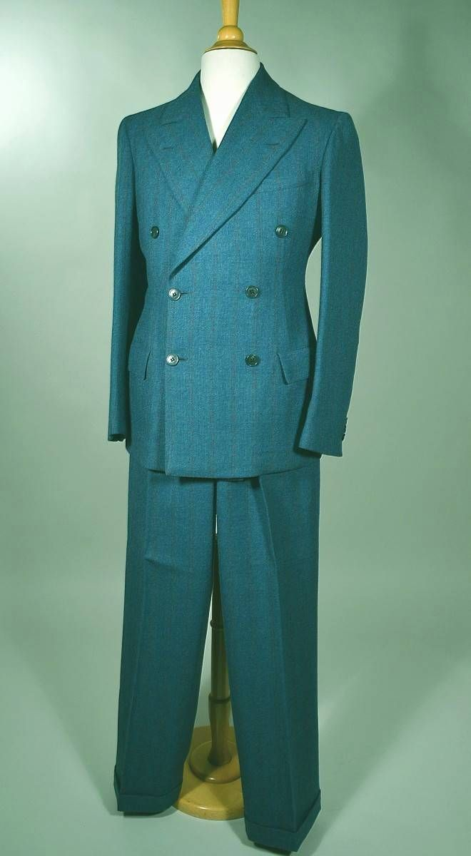 1940s mens suits, 40s vintage retro mens suits fashion - moda.com ...