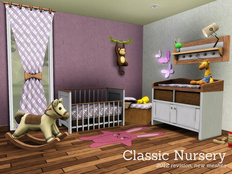 Angela's Classic Nursery (that monkey on the wall