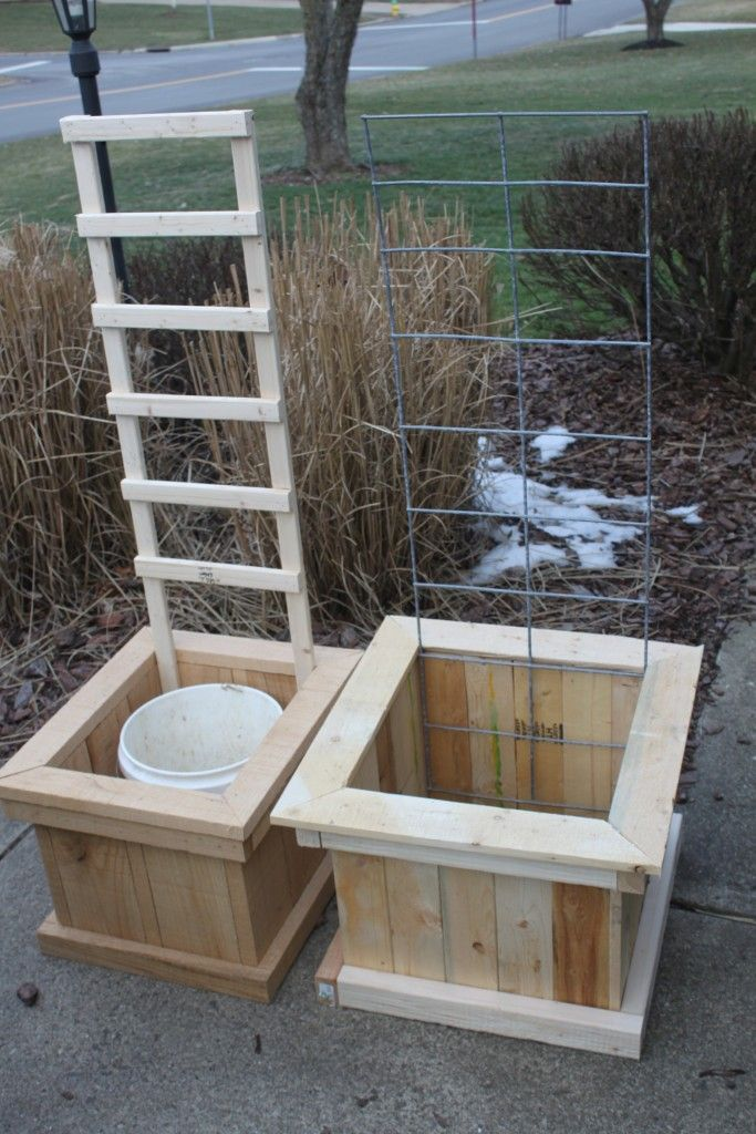 How To Build Great Container Garden Boxes   For Free!