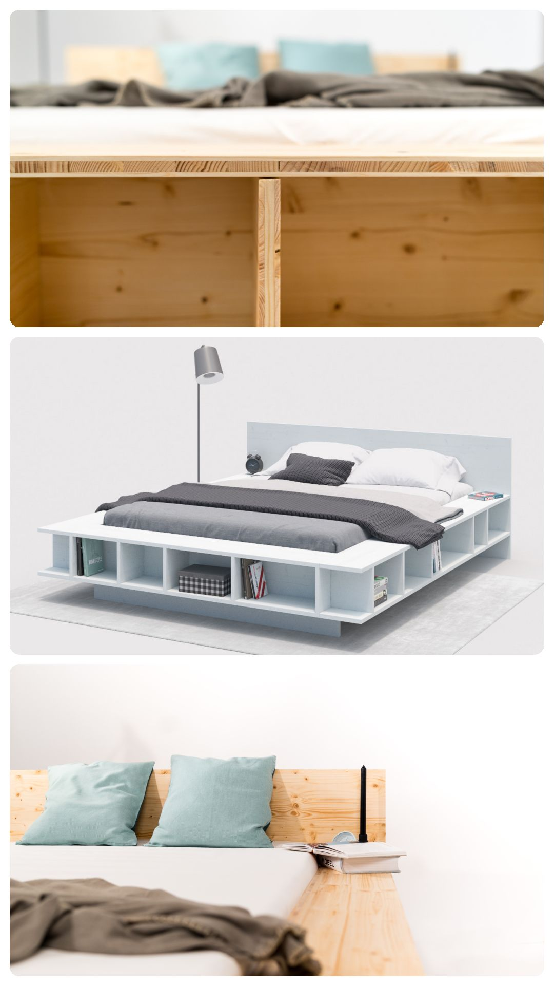 Bett Wilhelm Selber Bauen Alle Mobel In 2020 Bett Modern Bett