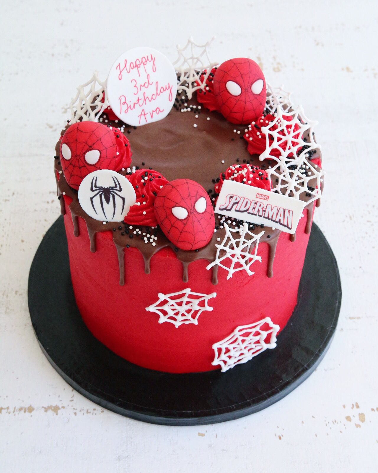 Superhero Cakes in 2020 Buttercream birthday cake