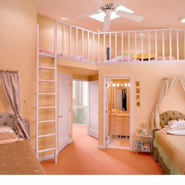 Kids bedrooms with lofts kids room with loft loft could for Rooms to go kids teens