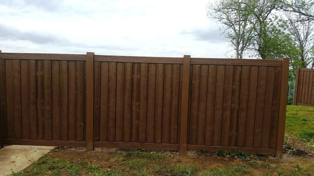 Chestnut Stain Fence Google Search Fence Stain Fence Outdoor Decor