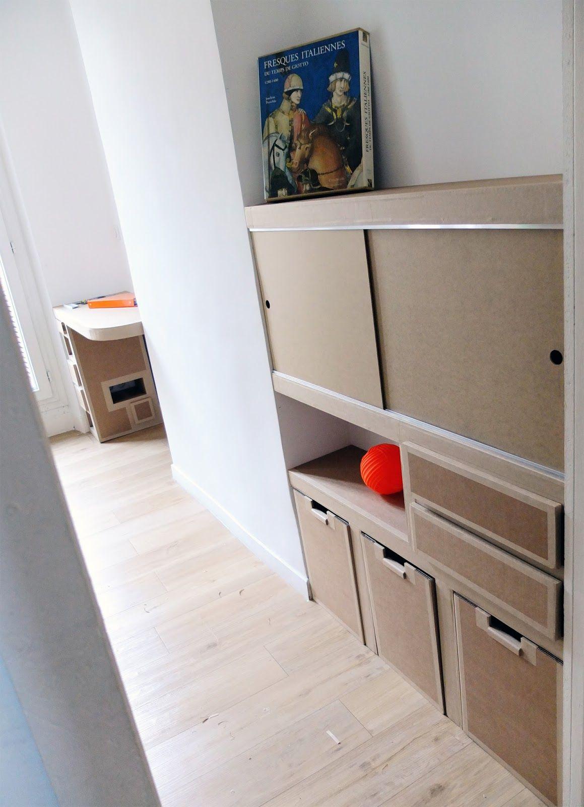 Juliadesign Cardboard Storage Cardboard Furniture Diy Cardboard Furniture