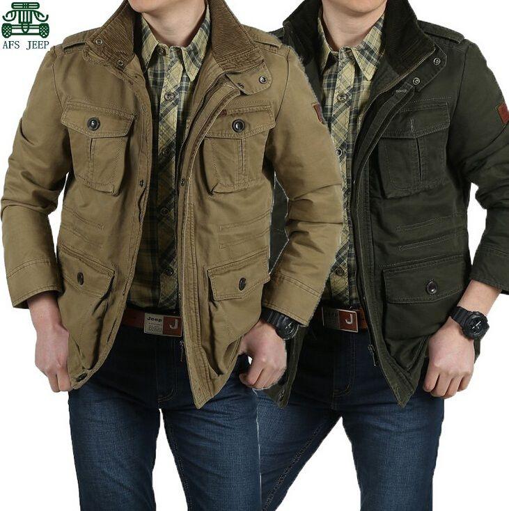f24a0ba992d04 6XL 7XL 8XL plu size New autumn winter afs jeep jackets