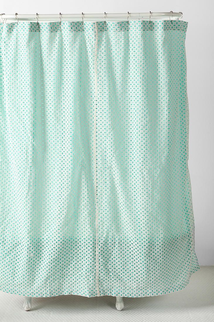 Eyelet Shower Curtain UrbanOutfitters My Bathroom Needs This