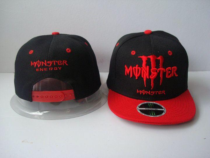 3e54110d90b Monster Energy Kids  Snapback Black Red! Only  8.90USD