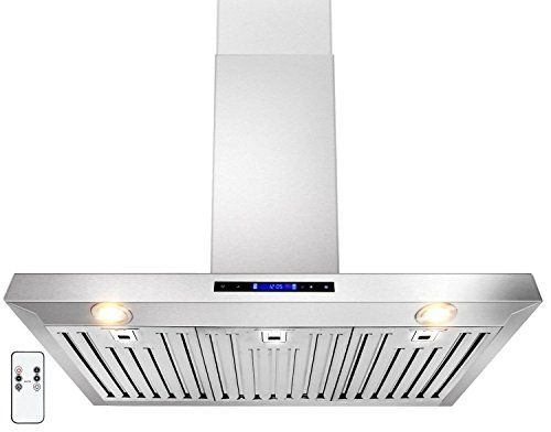 Golden Vantage 36 Wall Mount Stainless Steel Range Hood With Remote Gv Z01 36 Range Hood Stainless Steel Range Hood Wall Mount Range Hood