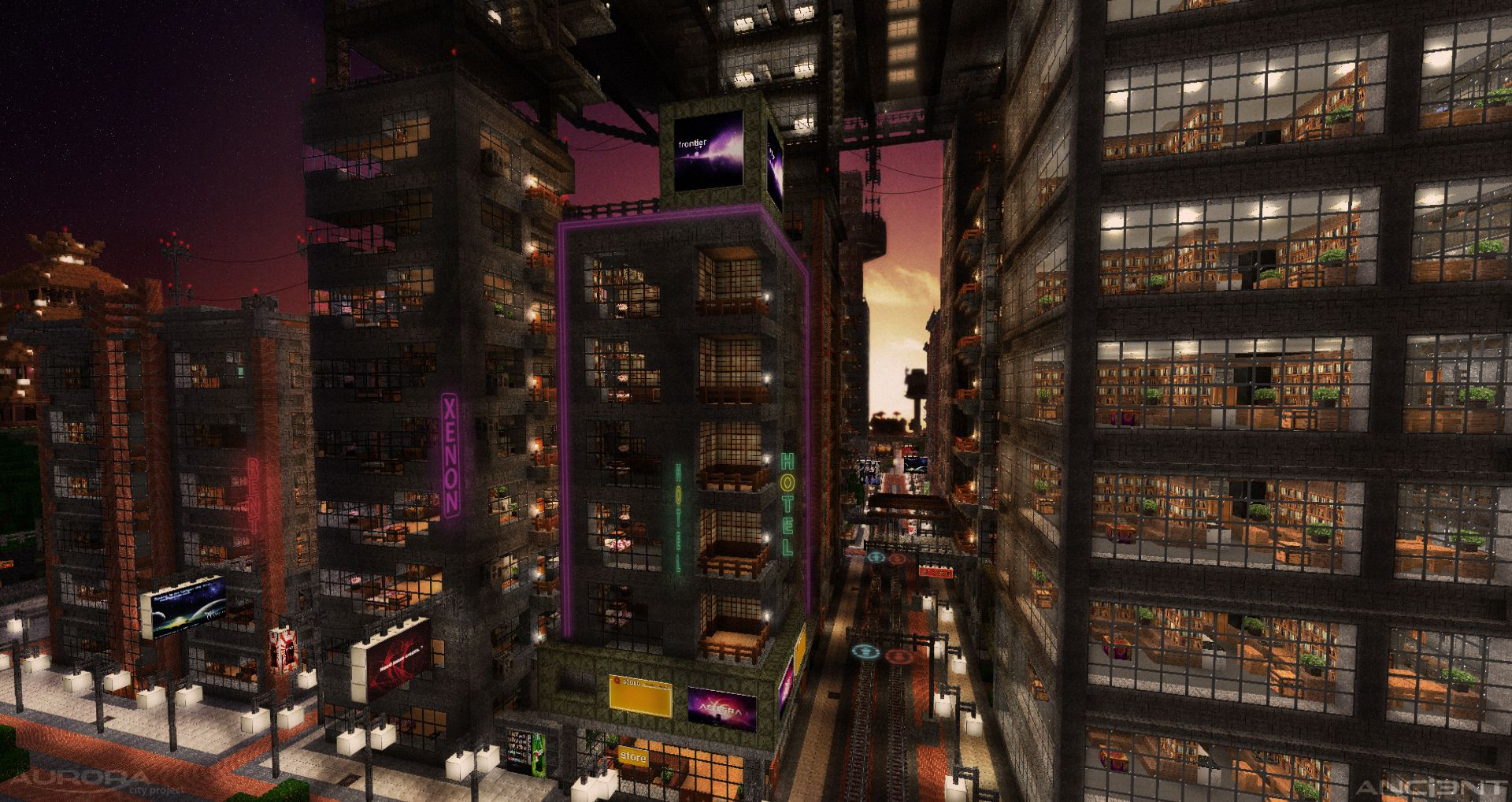 Cyber City 2 Minecraft Projects Minecraft City