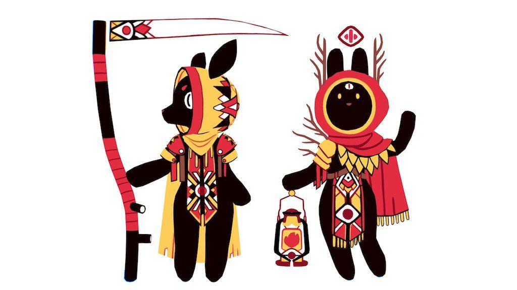 Lowpoly Character Models Original Concept Art Belongs To Emily Rabbiting