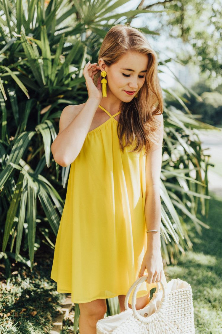 Not So Mellow Yellow A Lonestar State Of Southern Yellow Dress Party Dress Teens Preppy Dresses [ 1125 x 750 Pixel ]