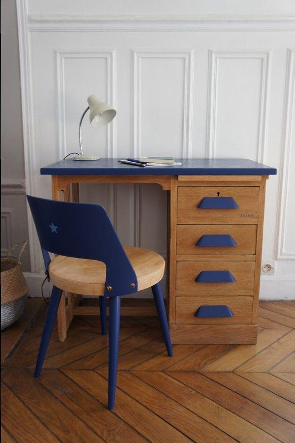 Petit bureau de comptable vintage Meuble vintage bureau