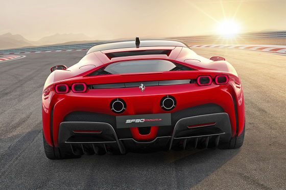 Ferrari Sf90 Stradale 2020 1000 Hp Engine Hybrid Price