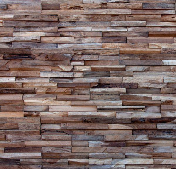 Panneaux en bois naturel - Wonderwall Studios - revetement mural ...