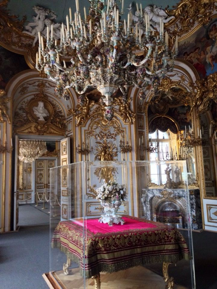 Konigsschloss Herrenchiemsee Neues Schloss New Palace Castles Interior Beautiful Castles